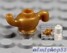 LEGO - Genie Lamp Pearl Gold Lantern Magic Aladdin Minifigure Utensil