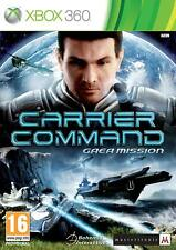 Carrier Command Gaea Mission Microsoft Xbox 360 PAL Brand New FACTORY SEALED
