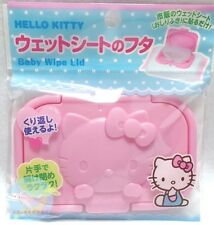 SANRIO HELLO KITTY KAWAII Only Wet Tissue Paste Lid Can be Used Repeatedly NC
