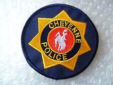 Patch- Cheyenne US Police Patch (NEW*)
