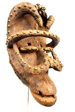 Art Africain Arts Premiers - Authentique Masque de Portage Kran Chimpanzé ++++++