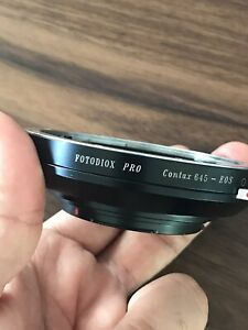 Contax 645 Lens to Canon EOS Mount Adapter