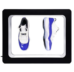 Levitating Pair of Shoes Display Floating Sneaker Stand   (Black)