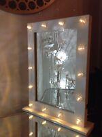 White Hollywood 14 Led Light Vanity Mirror Dressing Table Bedroom Bedroom 50x40