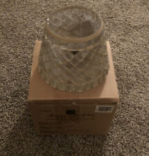 Vintage New In Box Home Interiors V-11076 Mosiac Stained Glass Candle Shade