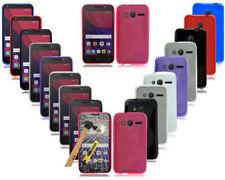 Étuis, housses et coques violets simples en silicone, caoutchouc, gel pour téléphone mobile et assistant personnel (PDA)