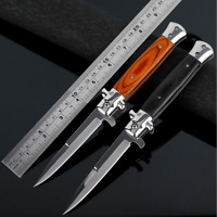 Folding Knife Outdoor Camping Hunting Survival Self-Defence Steel Pocket Knife