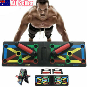 12 in1 Push Up Rack Board Body Building Pushup Stands Complete Training Exercise