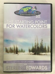 """Sterling Edwards: """"The Starting Point for Watercolors"""" Study at Home DVD"""