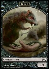 2x TOKEN Ratto 1/1 - Rat 1/1 MTG MAGIC GtC Gatecrash Italian