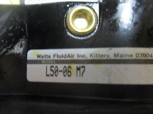 """(R2-7) 1  WATTS FLUID AIR INC L50-06-M7 3/4"""" INLINE INJ LUBRICATOR"""
