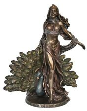 Hera Statue - Goddess Of Marriage and Birth - Poly Resin and Bronze Cast