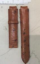Longines bracelet en cuir autruche neuf pour montre conquête attaque mm 14