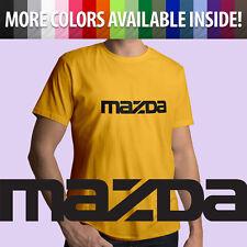 Mazda Mazdaspeed 3 6 Protege RX7 RX8 Miata MX5 Auto Logo Mens Unisex Tee T-Shirt