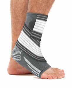 bonmedico Fußgelenk-Bandage, Knöchel-Bandage, Fußbandage Sport, Damen & Herren