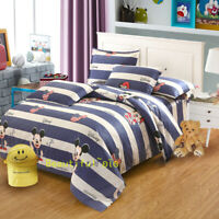 Mickey Mouse Single/Double/Queen/King Bed Quilt/Duvet/Doona Cover Set 100%Cotton