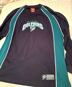 Miami Dolphins Vintage NFL Apparel 1990's Long Sleeve Sweatshirt Men's XL