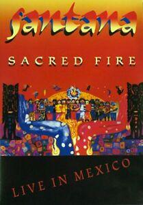 SANTANA :SACRED FIRE DVD - All Regions ( New)