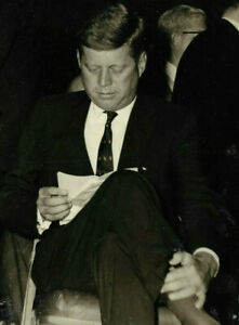 President Kennedy photograph of JFK- original darkroom print by James Langone
