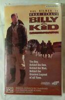 Gore Vidal's Billy The Kid VHS 1989 Western William Graham Val Kilmer Roadshow