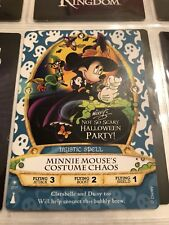 MINNIE Halloween Party Card #07/P MNSSHP Disney Sorcerers Of The Magic Kingdom
