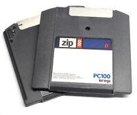 Iomega Zip PC100 Disk IBM Formatted Single Disk Classic Vintage Storage Media