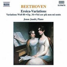 Jen Jand, Ludwig va - Piano Variations Opp. 34 & 35 [New CD]