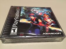 Chrono Cross Sony PlayStation Ps1 Brand New Unopened Black Label Game