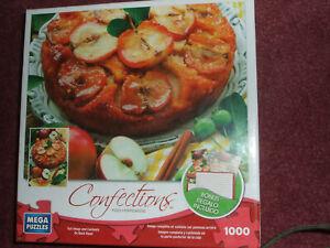 Confections Apple Upside Down Cake Mega Puzzle 1000 piece