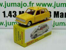 Voiture 1/43 réédition DINKY TOYS atlas : 1416 Renault 6 Spain
