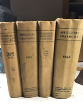 U.S. Department Agriculture Yearbook~4vol~1921-1925