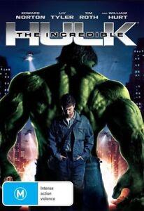 THE INCREDIBLE HULK  starring Edward Norton (DVD, 2008) - LIKE NEW!!!