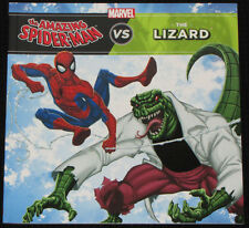 "Children's Book Marvel ""THE AMAZING SPIDER-MAN vs THE LIZARD"" FREE POST CLEARANC"
