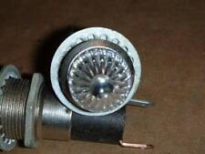 Vintage DRAKE 5100-202 Panel Mount Indicator Lights Rat Rod Motorcycle White 250