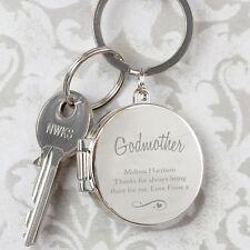 Personalised Engraved Photo Keyring Swirls & Hearts Gift Keepsake