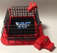 WWF Mini King of the Ring Wrestling Ring for Mini Figures Jakks WWE