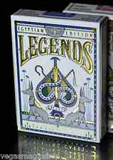 Egyptian Legends Blue Deck Playing Cards Poker Size LPCC Custom Limited Sealed