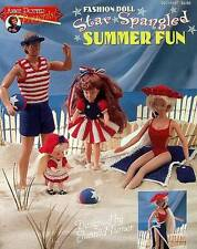 Crochet Fashion Doll  Star Spangled Summer Fun