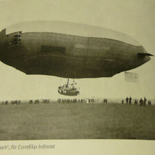German Book w/ 315 photos of Early Aviation History 1915 Zeppelin Blimp Airship