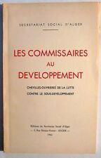 SECRETARIAT SOCIAL ALGER commissaires BUREAU ARABE 1961