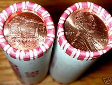 2009 P OBW EARLY CHILDHOOD (LOG CABIN) LINCOLN CENT ROLL ORIGINAL BANK WRAP