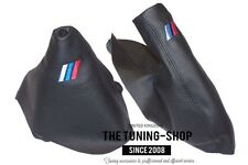 For BMW Series 1 E81 E82 E87 E88 07-13 Gear Handbrake Gaiter M/// Embroidery