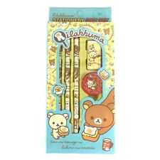 Rilakkuma Stationary Gift Set : School Supplies : Blue