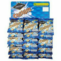 JACOB'S CHEESELETS ON A PUB SNACK CARD 18 x 30G - CHOOSE QUANTITY