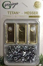 30 Titan Ersatz Messer Klingen f. Honda Miimo 310 520 3000 (LongLife   0,75mm) N