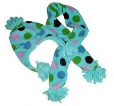 Gap Kids Girls Fleece Polka Dot Winter Hat & Matching Scarf S/M