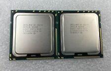 Pair Intel Xeon X5670 2.93GHz 12MB 6.4 GT/s Hex Core CPU SLBV7