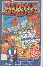 Asterix Sieg über Cäsar VHS Videokassette Gebraucht Gut Gallier Cäsar