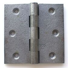 """Hinge Butt 75mm 3""""x 3"""" One Cast Iron Extended Parliament replacement UK c detail"""
