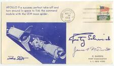 May 3 1969 Apollo 9 link-up cachet - fascimilie signatures